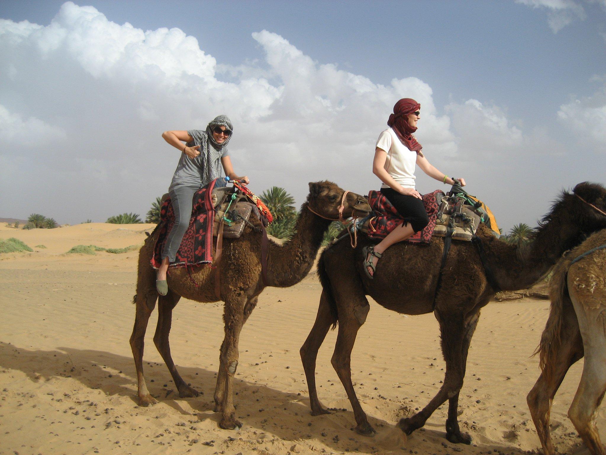 Camel Riding in the Sahara Morocco