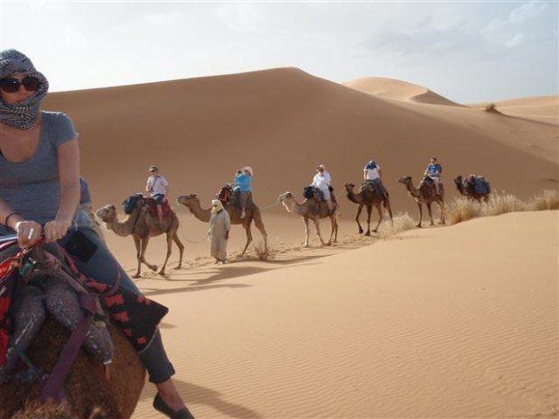 Camel Ride Sahara Morocco