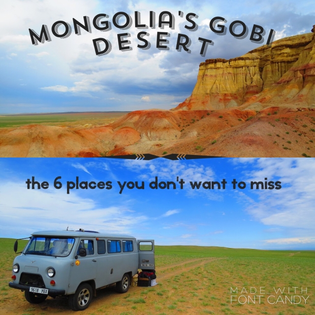 Mongolia's Gobi Desert Top 6 places you don't want to miss