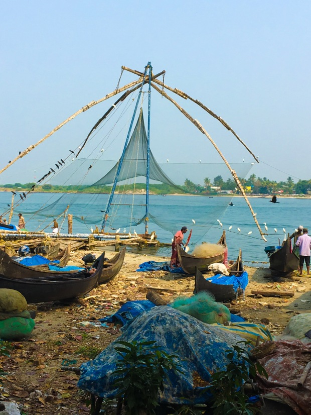 Chinese Fishing Nets, Kochi, Kerala, India