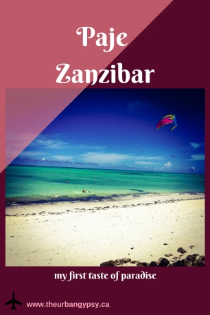 Copy of Zanzibar - first taste of paradise